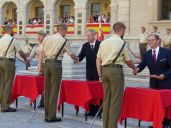 125 sargentos alumnos reciben los Certificados de Empleo en la Academia de Infantería de Toledo