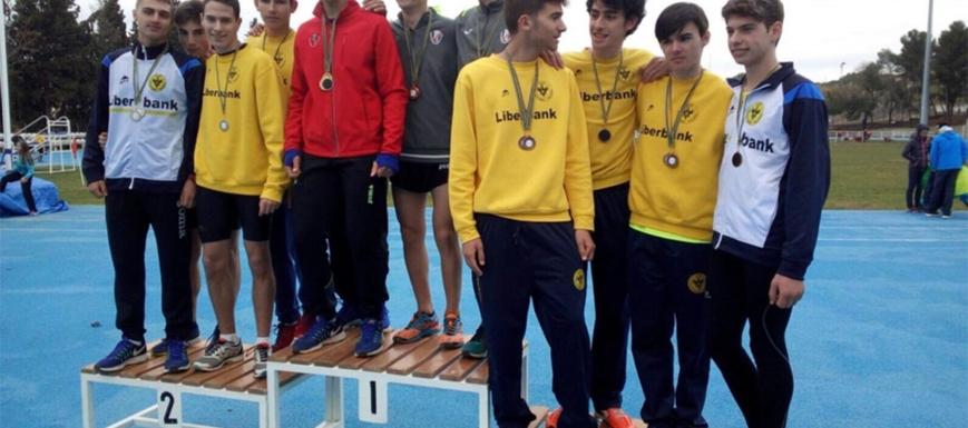 El Liberbank Club Atletismo Toledo logró 23 medallas en el Campeonato Provincial Escolar en pista