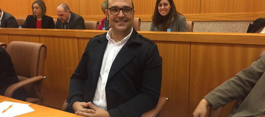 Jonatan Bermejo, portavoz de Ciudadanos en Talavera