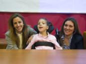 La niña toledana que ha abierto una gran esperanza para los niños con parálisis cerebral de todo el mundo