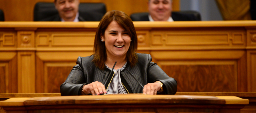 Tita García, consejera de Fomento de Castilla-La Mancha