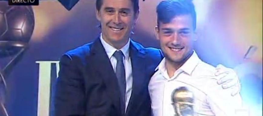 José Arnaiz (Valladolid, con Julen Lopetegui), mejor castellanomanchego en la Liga Adelante
