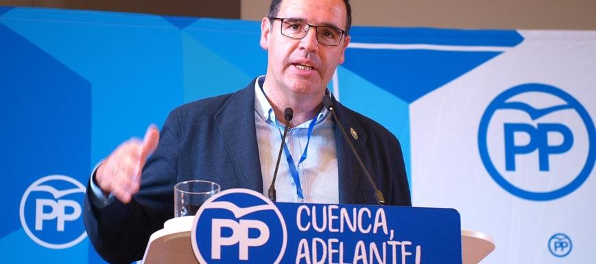 Benjamín Prieto, reelegido presidente del PP de Cuenca