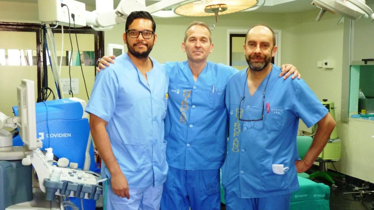 Ir al urologo por primera vez