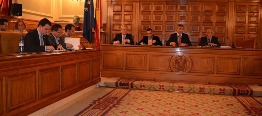 Pleno en el que se han aprobado los Presupuestos de la Diputación de Toledo