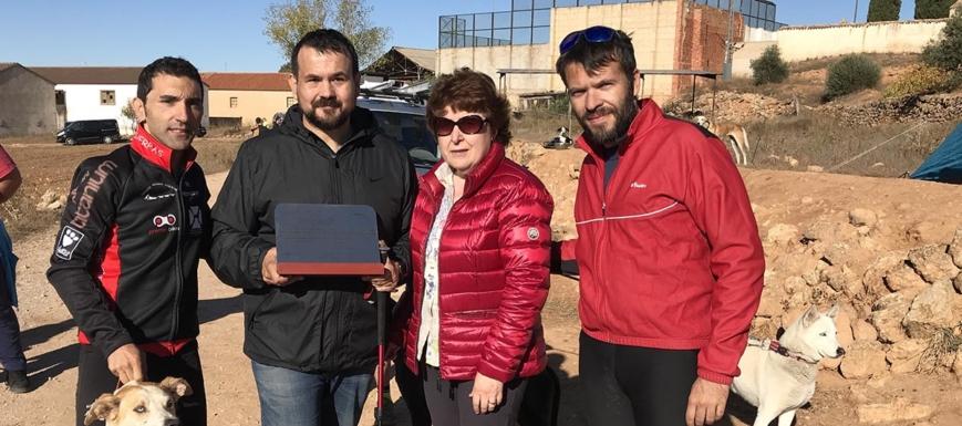 Juan Ramón Amores (segundo por la izquierda) ha destacado la importancia de las ayudas a los eventos deportivos