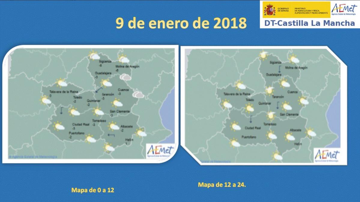 Hoy Martes 9 Lluvias Debiles Con Posibilidad De Nieve En Cuenca Y