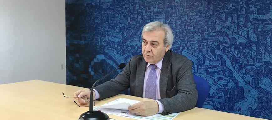 Juan José Pérez del Pino detalló el año deportivo en Toledo ciudad