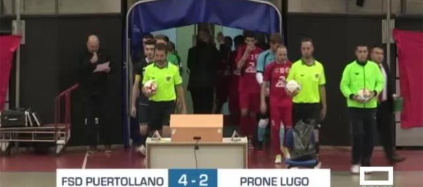 El Puertollano ganó al Prone Lugo