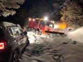 El rescate de una familia en Nerpio por parte de bomberos de Albacete