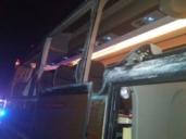 Doce heridos tras un choque entre un camión y un autobús con gran parte de pasajeros de Cenizate (Albacete)