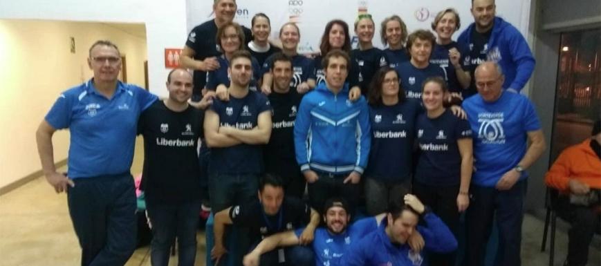 El Club Monteverde de Toledo fue el mejor de CLM en el Nacional máster de natación