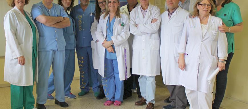 Equipo de trasplantes del Complejo Hospitalario de Toledo.