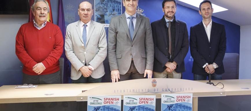Presentación oficial del Spanish Open de Tenis de Mesa