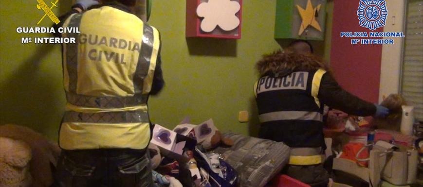 Detalle de la operación en la que han detenido a seis narcotraficantes