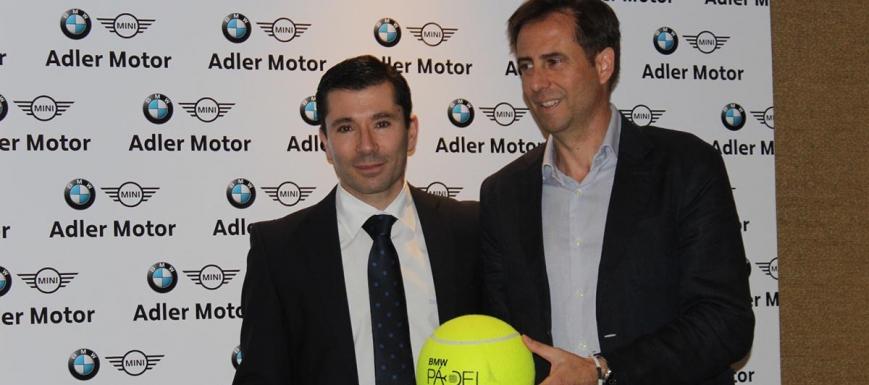 José Alberto Arenillas (Adler Motor) y Manuel Fernández-Pacheco (club Monteverde)