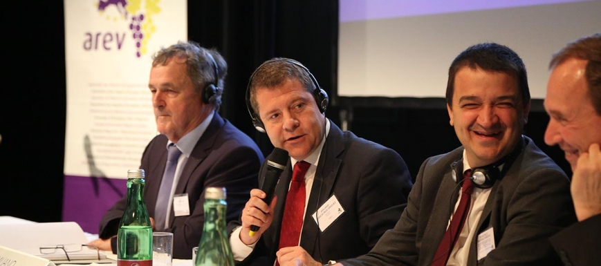Page, de nuevo presidente de la Asamblea de Regiones Europeas Vitícolas