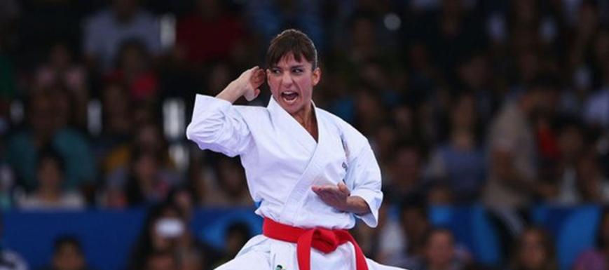Sandra Sánchez no se cansa de colgarse medallas