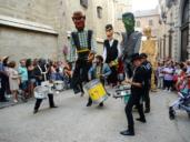 Los gigantones y cabezudos abren las fiestas de agosto en Toledo, las imágenes