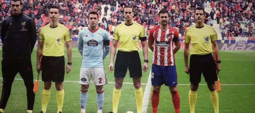 Javier Alberola (en el centro), en una foto de archivo