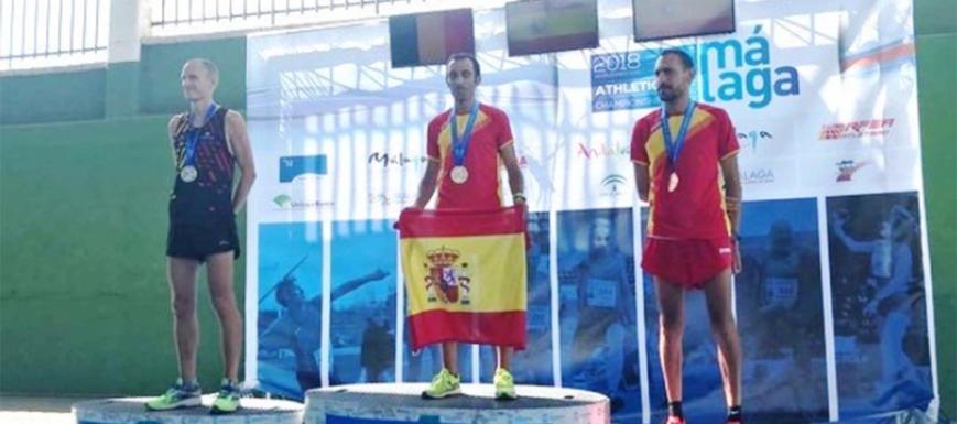Pedro Vega, campeón mundial máster de cross