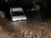 Las tormentas convierten en ríos las calles de Sacedón y Villaconejos