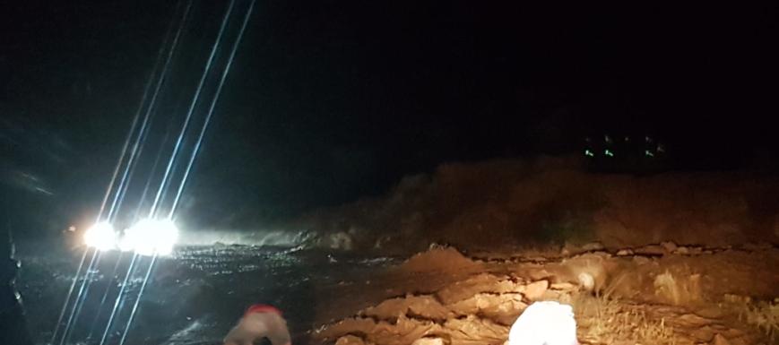 La tormenta en Villalba del Rey