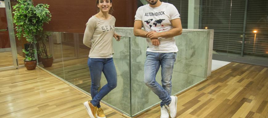 Sandra Sánchez y Paco Cubelos, candidatos a los Premios Admiral