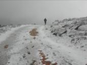 Nieve copiosa en Castilla-La Mancha un 28 de octubre
