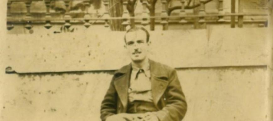 Maximiliano Velaso Sánchez de la Nieta, represaliado por el franquismo, cuyo recuerdo ha sido recuperado por
