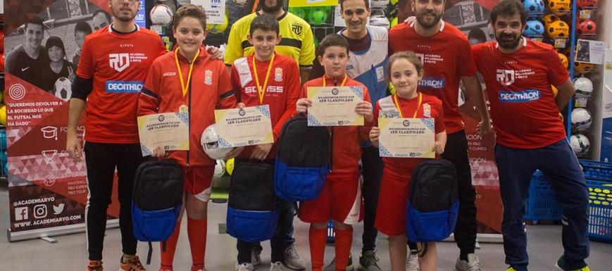 El equipo campeón de los grandes en la Ricardinho & Ortiz Cup