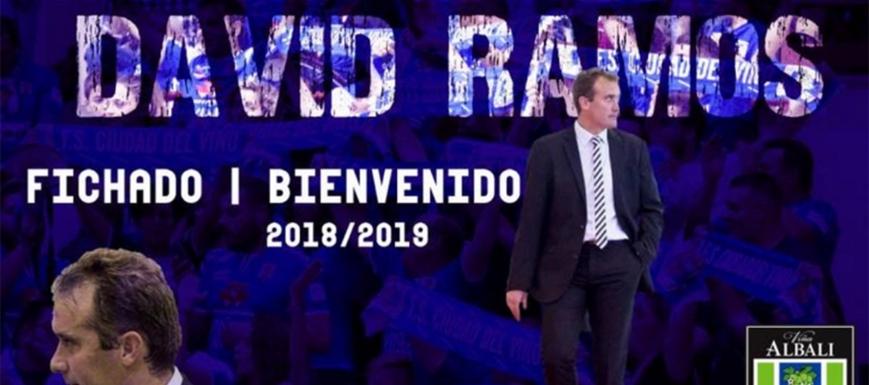 David Ramos es el nuevo entrenador del Viña Albali Valdepeñas