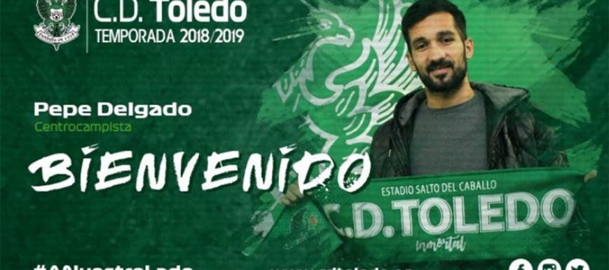 Pepe Delgado, nuevo futbolista del Toledo