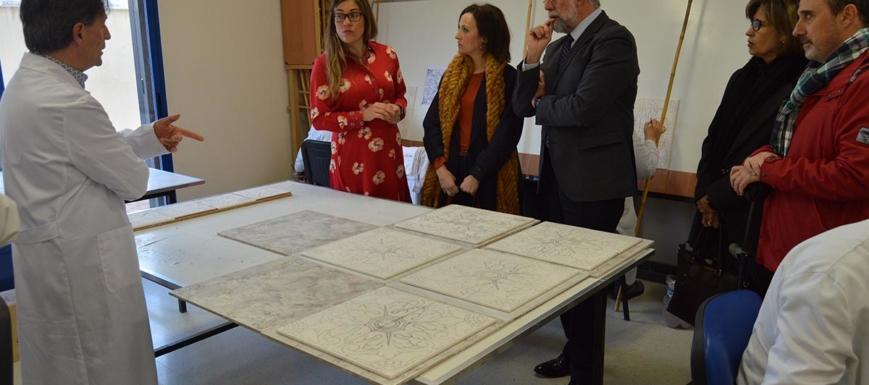 Jaime Ramos ha visitado ha visitado el Centro Ocupacional Virginia Manos Artesanas
