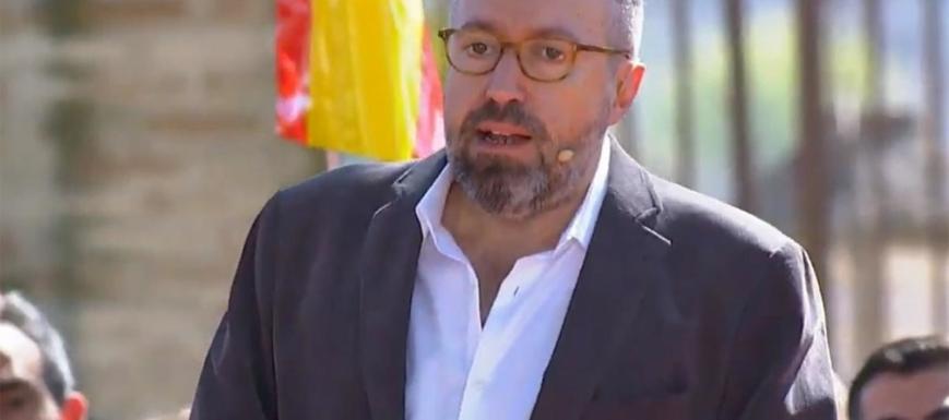 Juan Carlos Girauta habló en Toledo por primera vez
