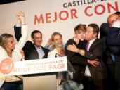Las fotos de la histórica noche electoral en Castilla-La Mancha