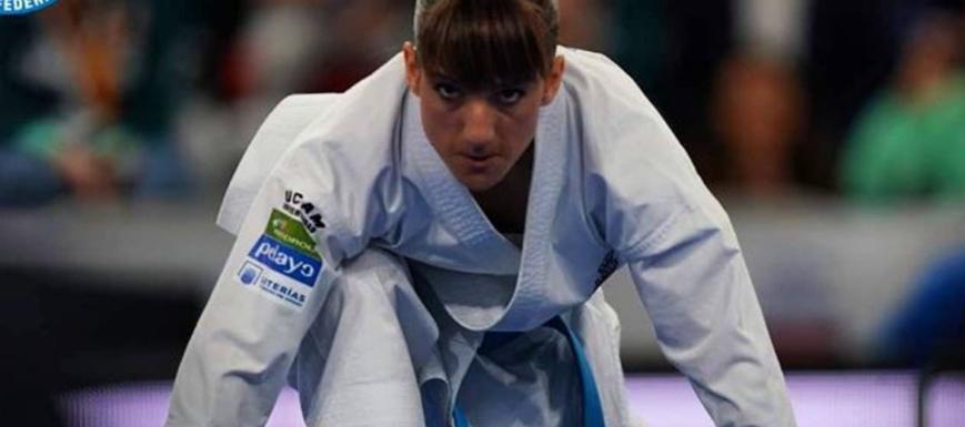 Sandra Sánchez, medalla de oro en la Premier League de Estambul