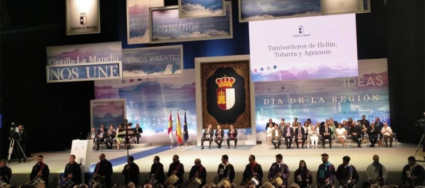 Acto institucional del Día de Castilla-La Mancha en Albacete