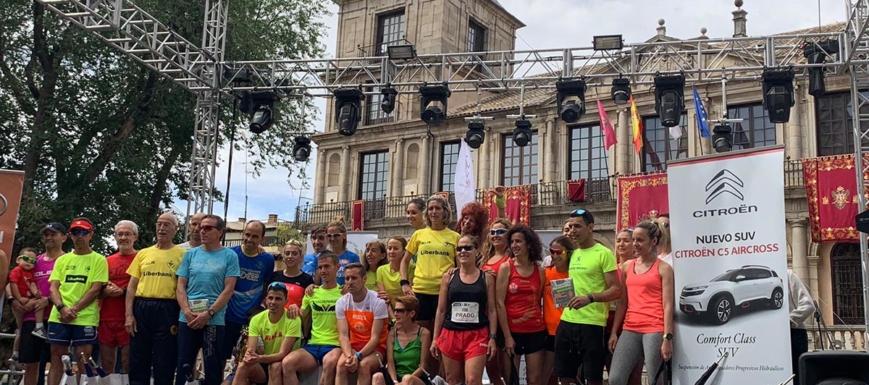 Los atletas de la carrera del Corpus de Toledo