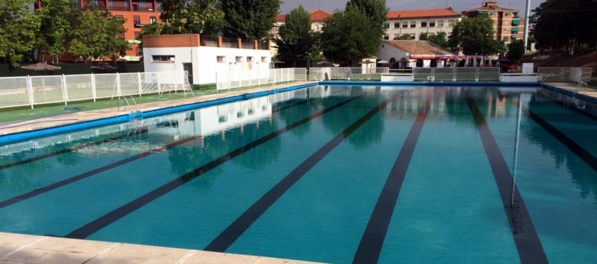 Las piscinas de Toledo (en la foto, la de la Escuela de Gimnasia), abren el sábado 15