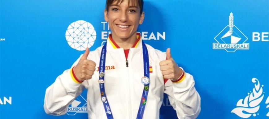 Sandra Sánchez, oro en los Juegos Europeos