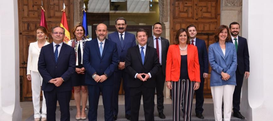 Gobierno de Castilla-La Mancha tras las elecciones autonómicas de 2019