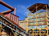 11 días encerrados en la mina de Almadén para recrear la protesta de 1984