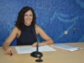 Noelia de la Cruz informó de la concesión de la licencia de obra para construir la pasarela de la ermita de la Virgen del Valle