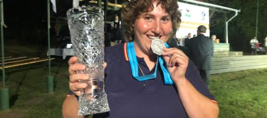 Beatriz Laparra volvió a demostrar en 2019 que es una de las mejores tiradoras del mundo