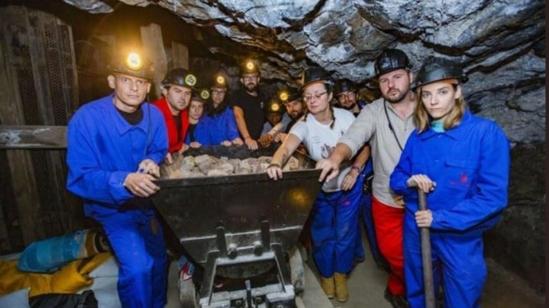 Salieron los encerrados en la mina de Almadén