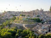 Las fotos de un Toledo precioso decorado con globos aerostáticos