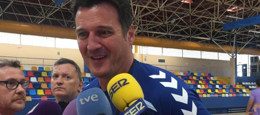 Mariano Ortega, el nuevo entrenador del Quabit Guadalajara