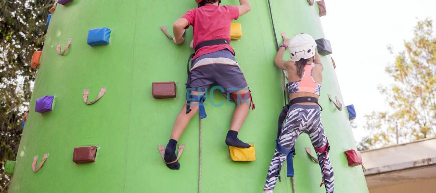 La escalada, una de las actividades de la Semana del Deporte en Toledo