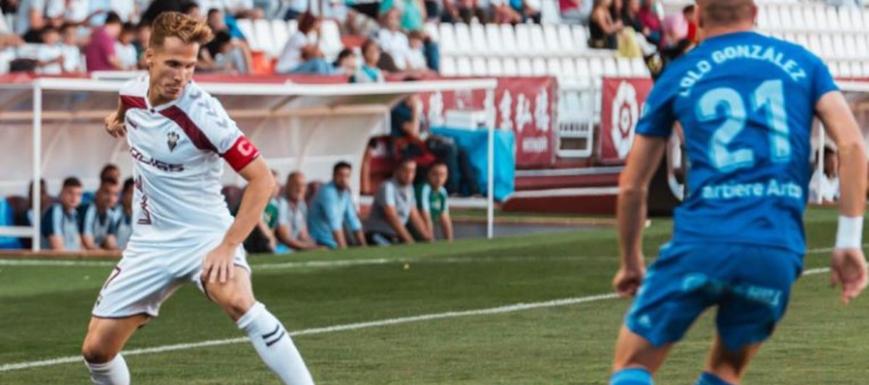 Un lance del Albacete-Oviedo